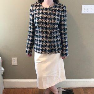 Etcetera 4 multi-color tweed jacket